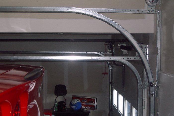 Overhead Door Track Radius : Radius door curved cabinet doors drawer boxes